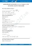 Giải bài tập Ôn tập chương 3 Trắc nghiệm SGK Đại số 10