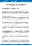 Giải bài tập Các nguyên tố hóa học và nước SGK Sinh 10