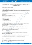 Giải bài tập Sự rơi tự do SGK Lý 10