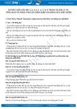 Giải bài tập Tổng hợp và phân tích lực điều kiện cân bằng của chất điểm SGK Lý 10