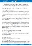 Giải bài tập Tính tương đối của chuyển động. Công thức tính vận tốc SGK Lý 10