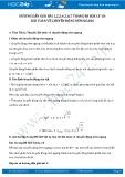 Giải bài tập Bài toán về chuyển động ném ngang SGK Lý 10