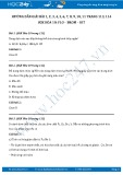 Giải bài tập Flo - brom - iot SGK Hóa 10