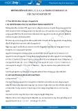 Giải bài tập Cấu tạo vỏ nguyên tử SGK Hóa 10