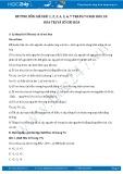 Giải bài tập Hóa trị và số oxi hóa SGK Hóa 10