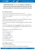 Giải bài tập Luyện tập bảng tuần hoàn sự biến đổi tuần hoàn cấu hình electron nguyên tử và tính chất của các nguyên tố hóa học SGK Hóa 10