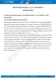 Giải bài tập Nguyên phân SGK Sinh học 9