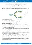 Giải bài tập ADN và bản chất của gen SGK Sinh học 9