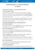Giải bài tập Ưu thế lai SGK Sinh học 9