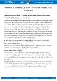 Giải bài tập Luật bảo vệ môi trường SGK Sinh học 9