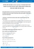 Giải bài tập Phân tích đa thức thành nhân tử SGK Toán 8 tập 1