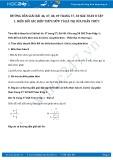 Giải bài tập Biến đổi các biểu thức hữu tỉ - Giá trị của phân thức SGK Toán 8 tập 1