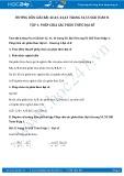 Giải bài tập Phép chia các phân thức đại số SGK Toán 8 tập 1