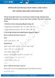 Giải bài tập Những hằng đẳng thức đáng nhớ SGK Toán 8 tập 1