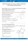 Giải bài tập Luyện tập diện tích hình chữ nhật SGK Toán 8