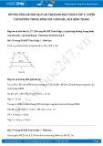 Giải bài tập Bài luyện tập đường trung bình của tam giác, của hình thang SGK Toán 8 tập 1