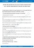 Giải bài tập Đường trung bình của tam giác và của hình thang SGK Toán 8 tập 1