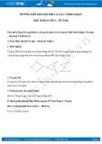 Giải giải bài tập Tứ giác SGK Toán 8 tập 1