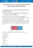 Giải bài tập Vận chuyển máu qua hệ mạch, vệ sinh hệ tuần hoàn SGK Sinh 8
