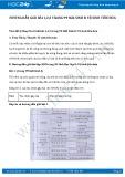 Giải bài tập Vệ sinh tiêu hóa SGK Sinh 8