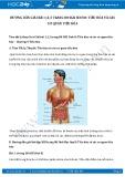 Giải bài tập Tiêu hóa và các cơ quan tiêu hóa SGK Sinh 8