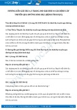 Giải bài tập Các bệnh lây truyền qua đường sinh dục (bệnh tình dục) SGK Sinh 8