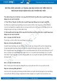 Giải bài tập Sự điều hòa và phối hợp hoạt động của các tuyến nội tiết SGK Sinh 8