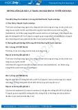 Giải bài tập Tuyến sinh dục SGK Sinh 8