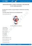 Giải bài tập Tuần hoàn máu và lưu thông bạch huyết SGK Sinh 8
