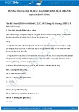 Giải bài tập Định luật về công SGK Lý 8
