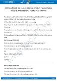 Giải bài tập Sự chuyển hóa và bảo toàn cơ năng SGK Lý 8