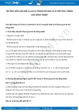 Giải bài tập Phương trình cân bằng nhiệt SGK Lý 8