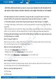 Giải bài tập Sự bảo toàn năng lượng trong các hiện tượng cơ và nhiệt SGK Lý 8