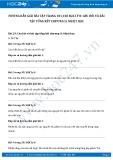 Giải bài tập Câu hỏi và cách giải bài tập tổng kết chương 2 - Nhiệt học SGK Lý 8