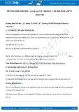 Giải bài tập Hóa trị SGK Hóa 8