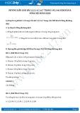 Giải bài tập Nồng độ dung dịch SGK Hóa 8