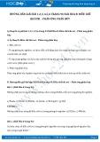 Giải bài tập Điều chế khí oxi – Phản ứng phân hủy SGK Hóa 8