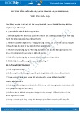 Giải bài tập Phản ứng hóa học SGK Hóa 8