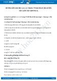 Giải bài tập Bài luyện tập 4 (ôn tập chương 3) SGK Hóa 8