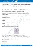 Giải bài tập Bài luyện tập chương 1 SGK Hóa 8