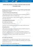 Giải bài tập Định luật bảo toàn khối lượng SGK Hóa 8