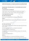 Giải bài tập Sự biến đổi chất SGK Hóa học 8