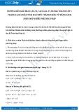 Giải bài tập Phân tích đa thức thành nhân tử bằng cách phối hợp nhiều phương pháp SGK Toán 8 tập 1