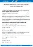 Giải bài tập Chia đa thức cho đơn thức Toán 8 tập 1
