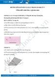 Giải bài tập Tổng kết chương 1 Quang học SGK Vật lý 7