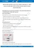 Giải bài tập Thực hành đo hiệu điện thế và cường độ dòng điện với đoạn mạch song song SGK Vật lý 7