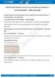 Giải bài tập Sơ đồ mạch điện - chiều dòng điện SGK Vật lý 7