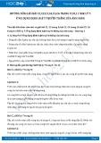 Giải bài tập Ứng dụng định luật truyền thẳng của ánh sáng SGK Vật lý 7