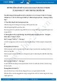 Giải bài tập Môi trường truyền âm SGK Vật lý 7
