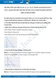 Giải bài tập Quan hệ giữa hai đường vuông góc và đường xiên, đường xiên và hình chiếu SGK Hình học 7 tập 2